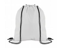 Stahovací batoh z polyesteru WITAN - bílá