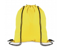 Stahovací batoh z polyesteru WITAN - žlutá