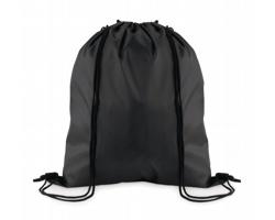 Stahovací batoh z polyesteru WITAN - černá