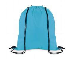 Stahovací batoh z polyesteru WITAN - tyrkysová