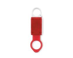 Plastový držák na 1 lahev RENIN s odrazkou - červená