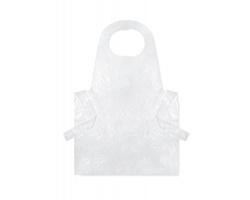 Balení jednorázových zástěr ELLEN, 100 ks - transparentní bílá