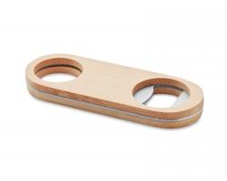 Bambusový oválný otvírák ATHIRST - dřevěná