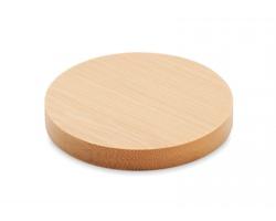 Bambusový otvírák a podtácek FRONTO - hnědá (dřevo)