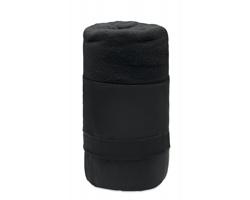 Cestovní fleecová přikrývka POPPY - černá