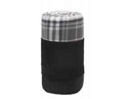 Cestovní fleecová přikrývka MIDDY z RPET materiálu - šedá