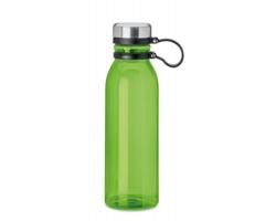 Plastová lahev PODIA z RPET materiálu, 780 ml - transparentní limetková