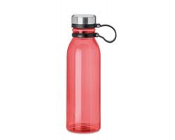 Plastová lahev PODIA z RPET materiálu, 780 ml - transparentní červená