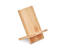 Bambusový stojánek na telefon LOSS - dřevěná