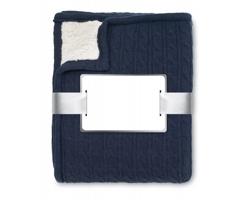 Fleecová deka JUNCTION s hřejivou ovečkou - modrá