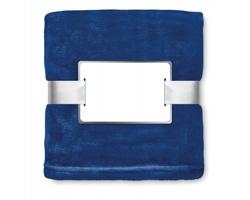 Fleecová deka NISEI s vysokou hřejivostí - modrá