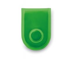 Magnetické LED světlo EVOKING s klipem, 3 režimy svícení - neonová zelená
