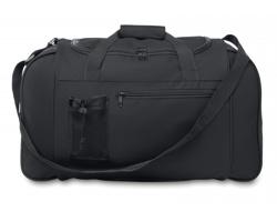 Sportovní cestovní taška AWAY se síťovou mini kapsou - černá