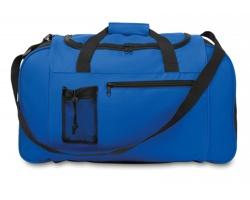 Sportovní cestovní taška AWAY se síťovou mini kapsou - královská modrá