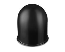 Plastový kryt tažného zařízení automobilu COOPS - černá