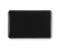 Plastový oboustranný obal na karty DAMNS s RFID ochranou - černá
