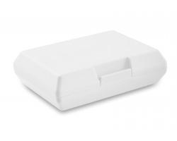 Plastová obědová krabička EXALT - bílá