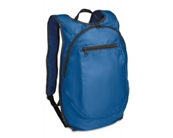 Polyesterový sportovní batoh TUNNY - královská modrá
