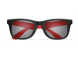 Klasické sluneční brýle CARAT v kontrastním provedení - červená