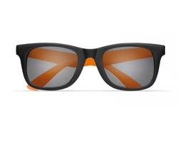 Klasické sluneční brýle CARAT v kontrastním provedení - oranžová