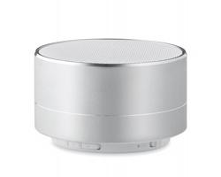 Hliníkový reproduktor TASSIE s bluetooth - matně stříbrná