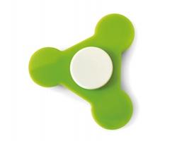 Plastový spinner MAPPED - limetková
