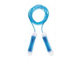 Plastové švihadlo MOWER, délka 2,2m - modrá
