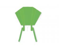 Polyesterový létající drak PIVOT s pouzdrem - zelená