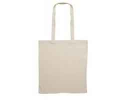 Bavlněná nákupní taška POSES s dlouhými uchy - béžová