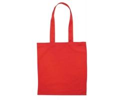 Bavlněná nákupní taška BLAMING s dlouhými popruhy - červená