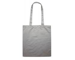 Bavlněná nákupní taška BLAMING s dlouhými popruhy - šedá