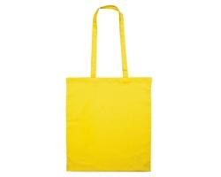 Bavlněná nákupní taška BLAMING s dlouhými popruhy - žlutá