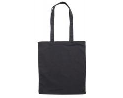 Bavlněná nákupní taška BLAMING s dlouhými popruhy - černá