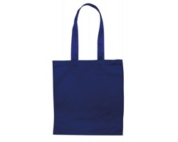 Bavlněná nákupní taška BLAMING s dlouhými popruhy - modrá