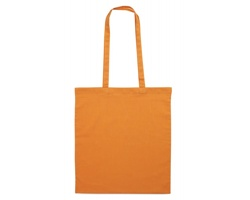 Bavlněná nákupní taška BLAMING s dlouhými popruhy - oranžová