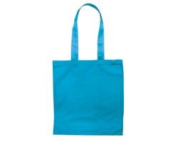 Bavlněná nákupní taška BLAMING s dlouhými popruhy - tyrkysová