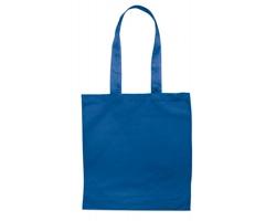 Bavlněná nákupní taška BLAMING s dlouhými popruhy - královská modrá