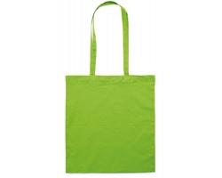 Bavlněná nákupní taška BLAMING s dlouhými popruhy - limetková