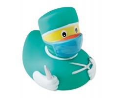 Gumová kačenka WHACKING v provedení doktora - zelená
