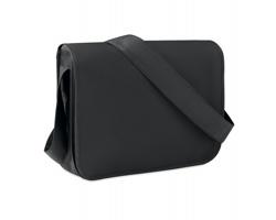 Netkaná taška pes rameno YARDVILLE s malým organizérem - černá