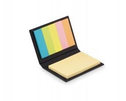 Sada barevných lepicích bločků PROBE v papírových deskách - černá