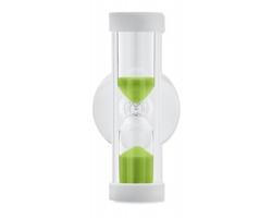 Plastové přesýpací hodiny MOMS do sprchy, 3,5 - 4 minuty - limetková
