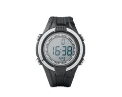 334ab7c6c29 Plastové náramkové hodinky QUEM měřící tepovou frekvenci - černá