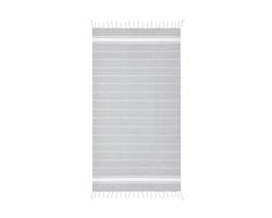 Bavlněný plážový ručník CALYX - šedá