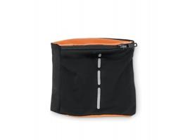 Polyesterový reflexní sportovní náramek WELDS s kapsou - oranžová