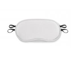 Polyesterová maska na oči LUCAN - bílá