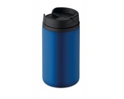 Nerezový dvouplášťový hrnek CITES, 250 ml - modrá