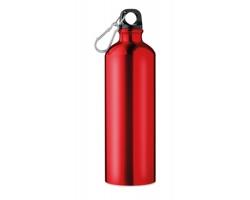Hliníková láhev TOOK s karabinou, 750 ml - červená