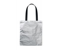 Ekologická nákupní taška SNUCK s dlouhými uchy - stříbrná