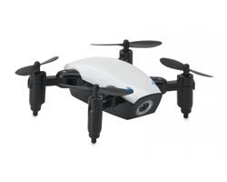 Plastový skládací Wifi dron MIYOKO s kamerou - bílá